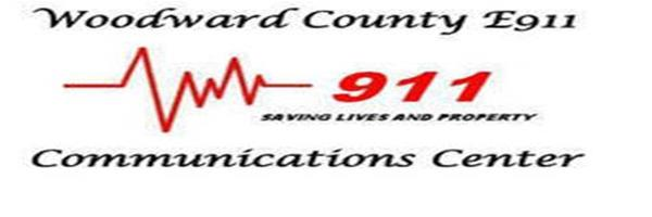 Woodward County E-911 Logo